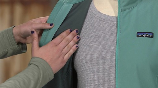 Patagonia Womens Sidesend Jacket - image 3 from the video