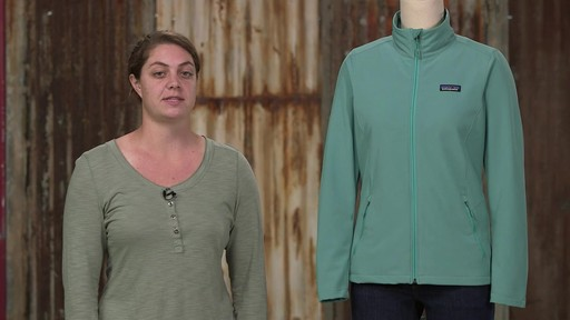 Patagonia Womens Sidesend Jacket - image 4 from the video