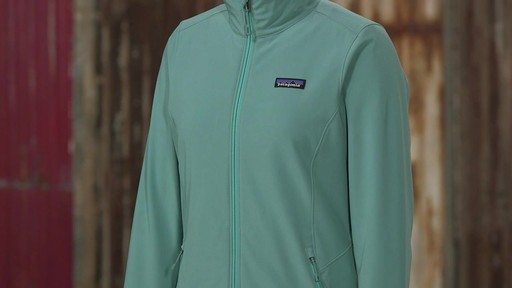 Patagonia Womens Sidesend Jacket - image 5 from the video