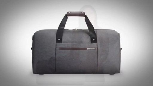 Briggs & Riley Kinzie Street Simple Duffle - image 1 from the video