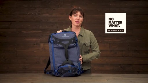 Eagle Creek Gear Warrior Travel Pack 45L - image 10 from the video