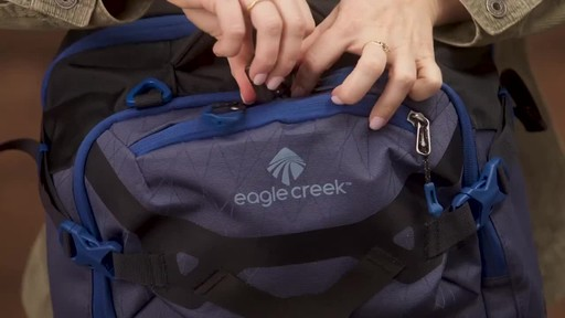 Eagle Creek Gear Warrior Travel Pack 45L - image 6 from the video