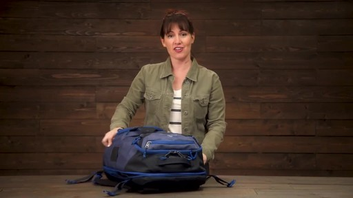 Eagle Creek Gear Warrior Travel Pack 45L - image 7 from the video