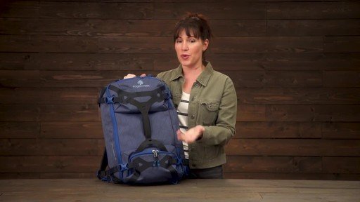Eagle Creek Gear Warrior Travel Pack 45L - image 9 from the video