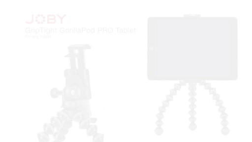 Joby GripTight PRO Tablet Mount with GorillaPod - image 10 from the video