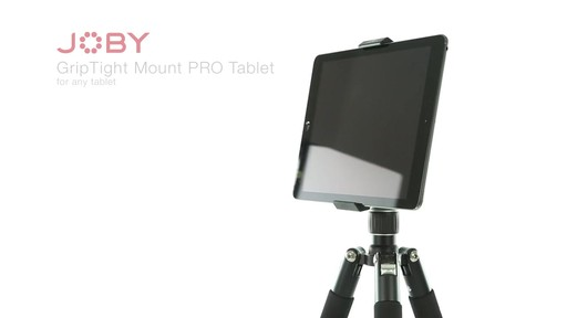 Joby GripTight PRO Tablet Mount with GorillaPod - image 2 from the video