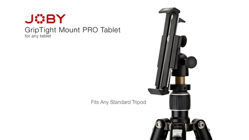 Joby GripTight PRO Tablet Mount with GorillaPod - image 3 from the video