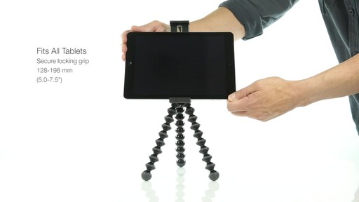 Joby GripTight PRO Tablet Mount with GorillaPod - image 5 from the video