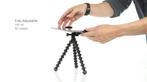 Joby GripTight PRO Tablet Mount with GorillaPod - image 6 from the video