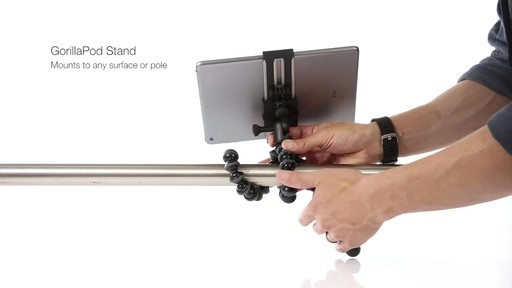 Joby GripTight PRO Tablet Mount with GorillaPod - image 9 from the video