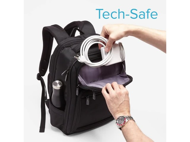 Samsonite Executive Series Laptop Backpack - image 2 from the video