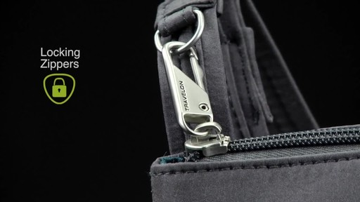 Travelon Anti-Theft Crossbody and RFID Clutch Wallet Set- Exclusive - image 3 from the video