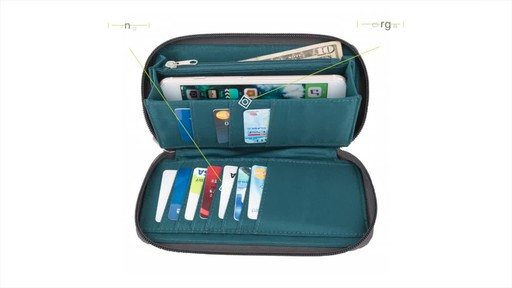 Travelon Anti-Theft Crossbody and RFID Clutch Wallet Set- Exclusive - image 8 from the video