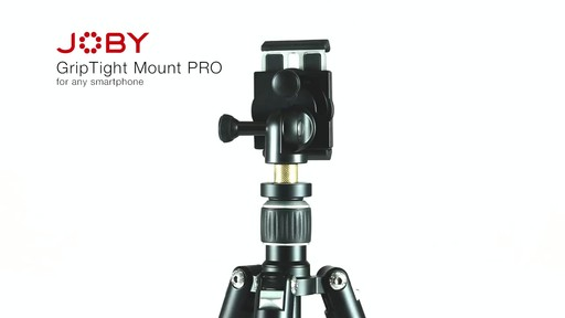 Joby GripTight PRO Smartphone Mount - image 1 from the video