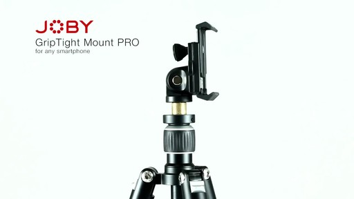 Joby GripTight PRO Smartphone Mount - image 2 from the video