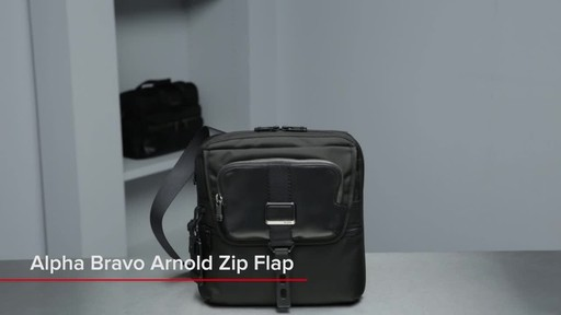 Tumi Alpha Bravo Arnold Zip Flap - image 1 from the video