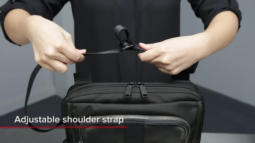Tumi Alpha Bravo Arnold Zip Flap - image 2 from the video