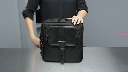 Tumi Alpha Bravo Arnold Zip Flap - image 3 from the video