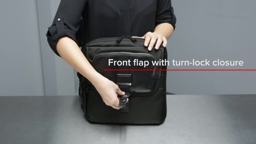 Tumi Alpha Bravo Arnold Zip Flap - image 4 from the video