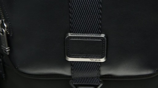 Tumi Alpha Bravo Arnold Zip Flap - image 9 from the video