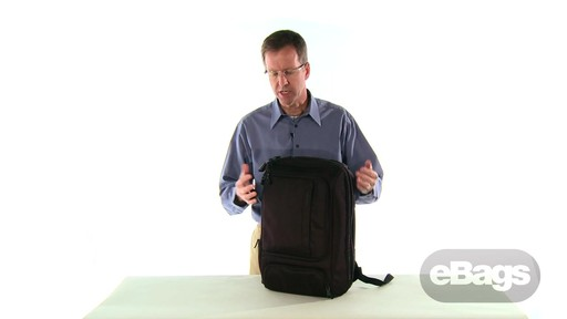 TLS Professional Slim Laptop Backpack - image 1 from the video