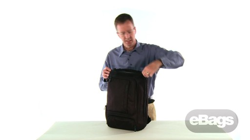 TLS Professional Slim Laptop Backpack - image 4 from the video