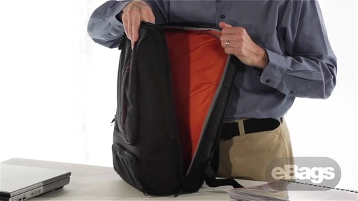 TLS Professional Slim Laptop Backpack » eBags Video
