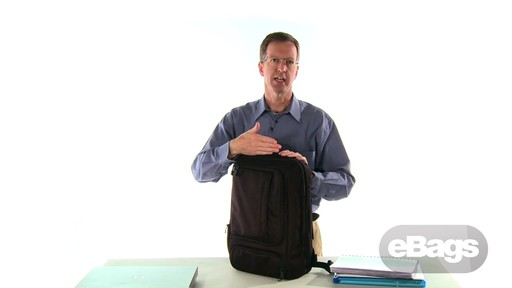TLS Professional Slim Laptop Backpack - image 6 from the video