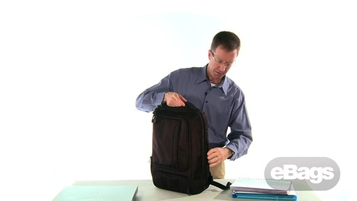 TLS Professional Slim Laptop Backpack - image 7 from the video
