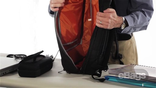 TLS Professional Slim Laptop Backpack - image 9 from the video