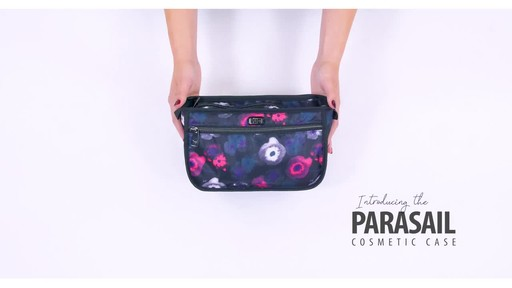 Lug Parasail Ripple Cosmetic Case - image 1 from the video