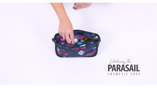 Lug Parasail Ripple Cosmetic Case - image 2 from the video
