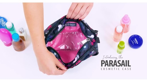 Lug Parasail Ripple Cosmetic Case - image 5 from the video