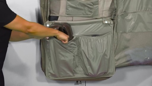 Briggs & Riley Deluxe Garment Bag - image 10 from the video