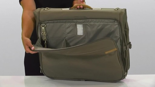 Briggs & Riley Deluxe Garment Bag - image 3 from the video