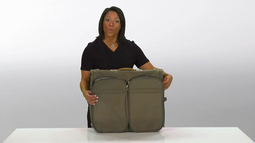 Briggs & Riley Deluxe Garment Bag - image 4 from the video