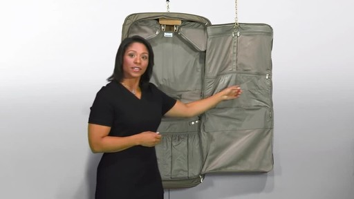 Briggs & Riley Deluxe Garment Bag - image 7 from the video