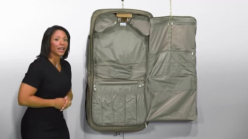 Briggs & Riley Deluxe Garment Bag - image 8 from the video