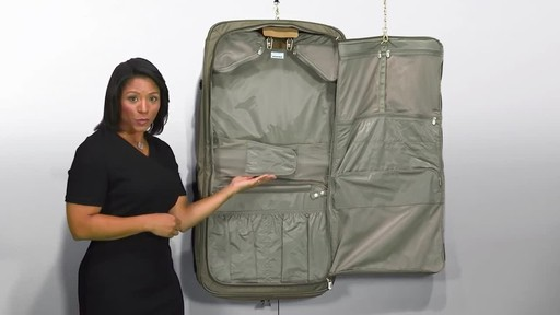 Briggs & Riley Deluxe Garment Bag - image 9 from the video