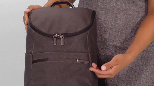 1caabd9b6 Briggs & Riley Kinzie Street Small Wide-Mouth Backpack - image 2 from the  video