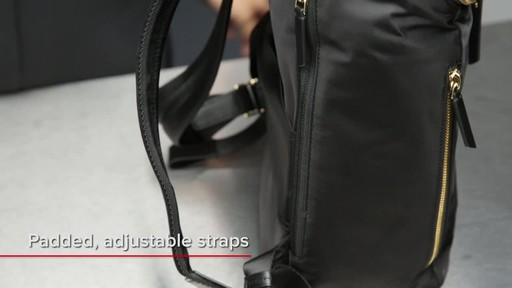 Tumi Voyageur Bryce Backpack - image 2 from the video