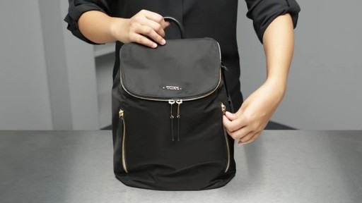 Tumi Voyageur Bryce Backpack - image 4 from the video