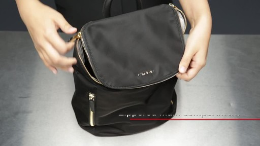 Tumi Voyageur Bryce Backpack - image 8 from the video