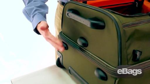 Organized, checked duffel. eTech 2.0 29