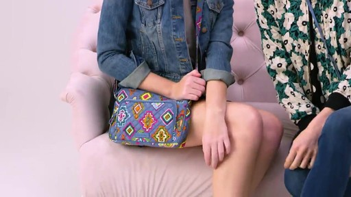 Vera Bradley Iconic RFID Little Hipster - image 1 from the video