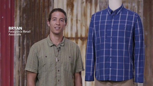 Patagonia Mens Long Sleeve Gallegos Shirt - image 1 from the video