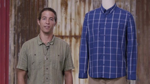 Patagonia Mens Long Sleeve Gallegos Shirt - image 10 from the video