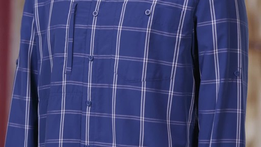 Patagonia Mens Long Sleeve Gallegos Shirt - image 4 from the video