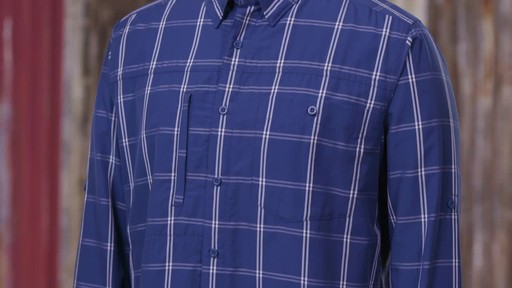 Patagonia Mens Long Sleeve Gallegos Shirt - image 6 from the video