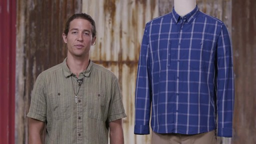 Patagonia Mens Long Sleeve Gallegos Shirt - image 9 from the video